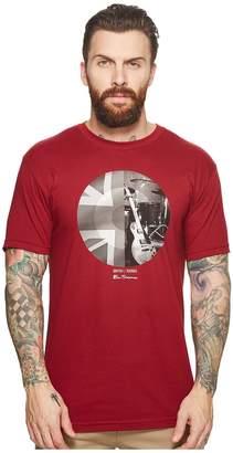 Ben Sherman Union Jack Circle Screen Tee Men's T Shirt