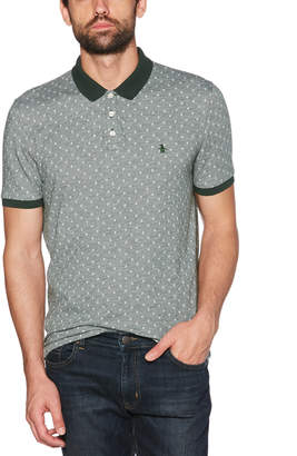 Original Penguin CLASSIC FIT OXFORD DOBBY POLO