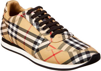 Burberry Vintage Check Canvas Trainer