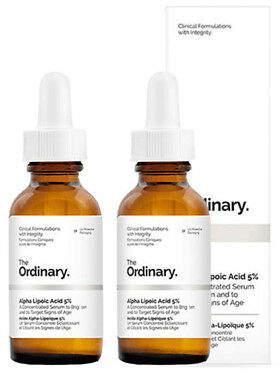 The Ordinary NEW Alpha Lipoic Acid 5% [Double Pack] 2 x 30ml Womens Skin Care