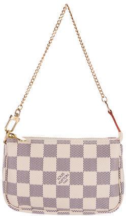 Louis VuittonLouis Vuitton Damier Azur Mini Pochette Accessoires