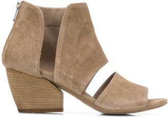 Officine Creative Blanc ankle sandals