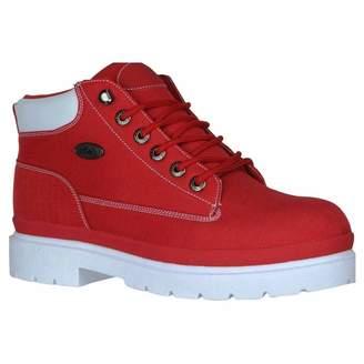 Lugz Men's Drifter - Ripstop Red/White Textile Boot 12 D - Medium