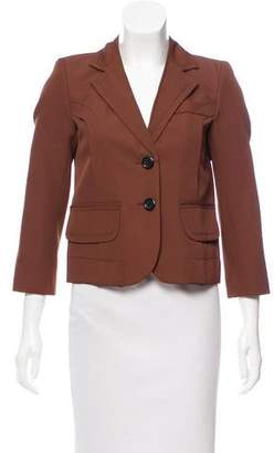Marc Jacobs Cropped Structured Blazer