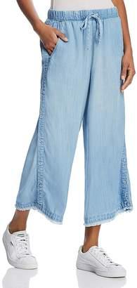 Bella Dahl Cropped Wide-Leg Side-Button Pants - 100% Exclusive