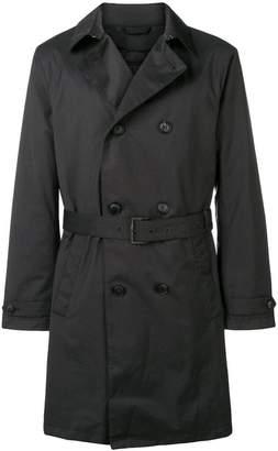 Emporio Armani padded trench coat