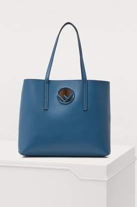 Fendi Logo shopping bag