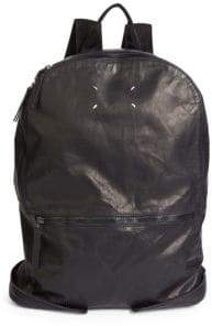 Maison Margiela Zip Leather Backpack