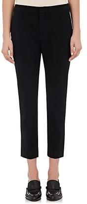 Chloé Women's Wool Ankle-Length Trousers - Black