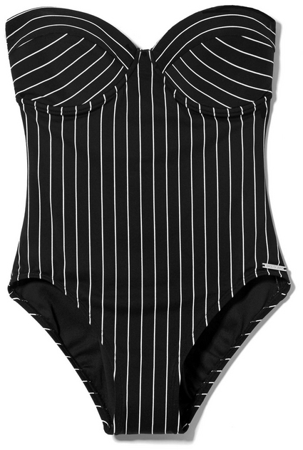 Vince Camuto Striped One-piece Swimsuit