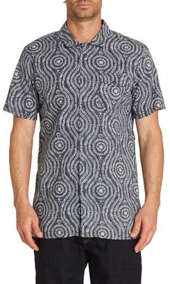 Billabong Cosmic Patterned Camp Shirt