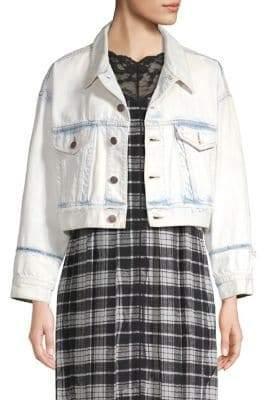Marc Jacobs Oversized Cropped Denim Jacket