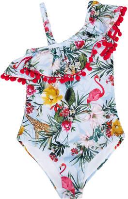 MonnaLisa floral print swimsuit