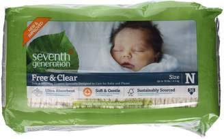 Seventh Generation Frontier Baby Diapers Chlorine Free Newborn Up to 10 lbs. 36 count 220954