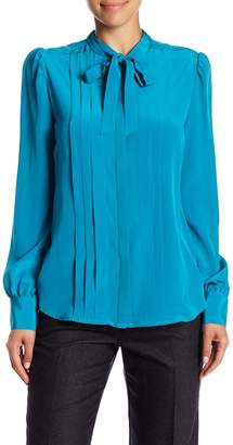 Trina Turk Middler Pleated Blouse