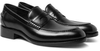 Privee SALLE Ian Leather Penny Loafers