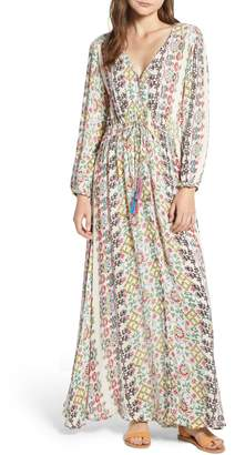 Raga Yasmin Print Maxi Dress