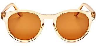 Le Specs Women's Hey Macarena Polarized Round Sunglasses, 47mm