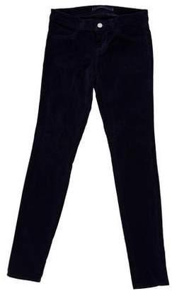 J Brand Corduroy Skinny Pants