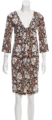 Diane von Furstenberg Silk Elena Dress