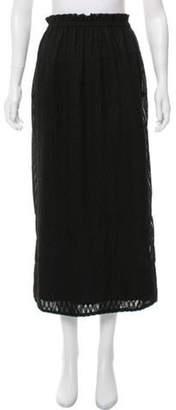 IRO Aniela Midi Skirt Black Aniela Midi Skirt