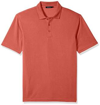 Bugatchi Men's Classic Fit Durable Microfiber Short Sleeve Polo Shirt