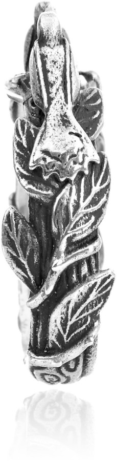 Pamela Love Silver-plated dove ring