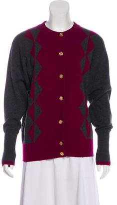 Chanel Cashmere Patterned Cardigan