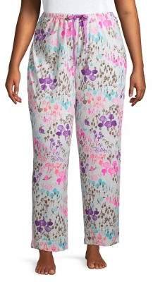 Hue Plus Shroom Forest Pajama Pants