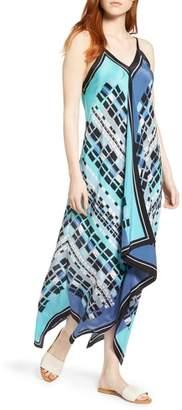Nic+Zoe From Above Dress Silk Blend Maxi Dress