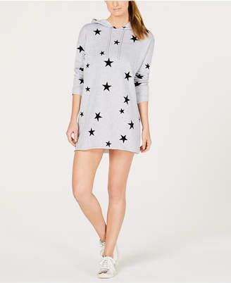 Material Girl Active Juniors' Star Sweatshirt Dress