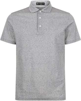 Corneliani Marl Polo Shirt