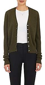 Barneys New York Women's V-Neck Cardigan - Fatigue