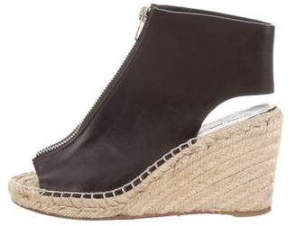 Celine Espadrille Wedge Booties