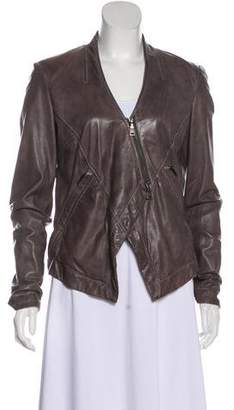 Emporio Armani Casual Leather Jacket