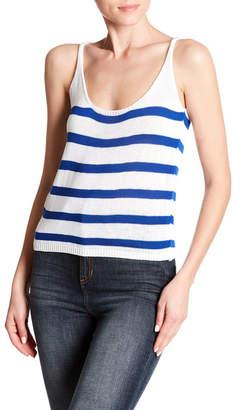 Cotton Emporium Striped Sweater Tank Top