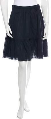 Miu Miu A-Line Midi Skirt