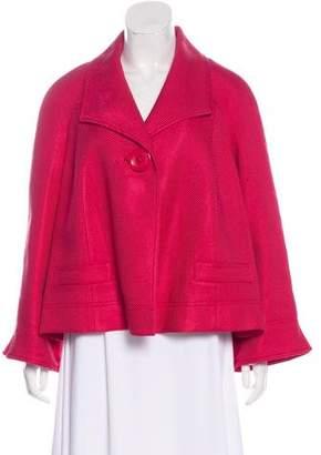 Ellen Tracy Button-Up Textured Blazer