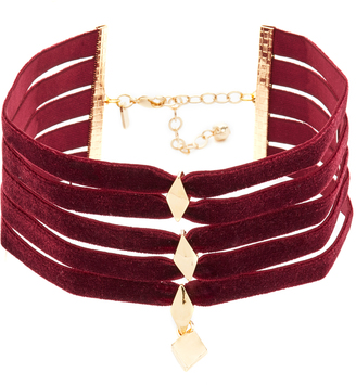 Vanessa Mooney The Delilah Choker Necklace $75 thestylecure.com