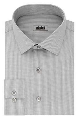 Kenneth Cole Unlisted Mens Dress Shirt Regular Fit Stripe