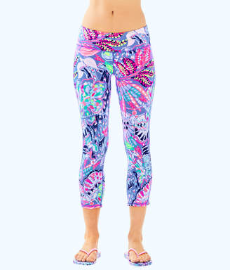 "Lilly Pulitzer Womens UPF 50+ Luxletic 21"" Weekender Cropped Pant"