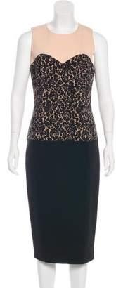 Michael Kors Colorblock Midi Dress