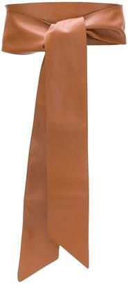 Orciani wide self tie belt
