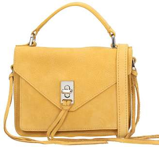 At Italist Rebecca Minkoff Camel Nabuk Mini Darren Bag
