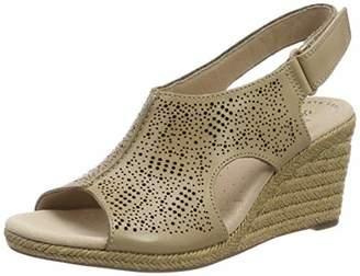 935f20e71c33 Clarks Women s Lafley Rosen Sling Back Sandals