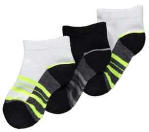 George Black Feel Fresh Cushion Sole Trainer Liner Socks 3 Pack