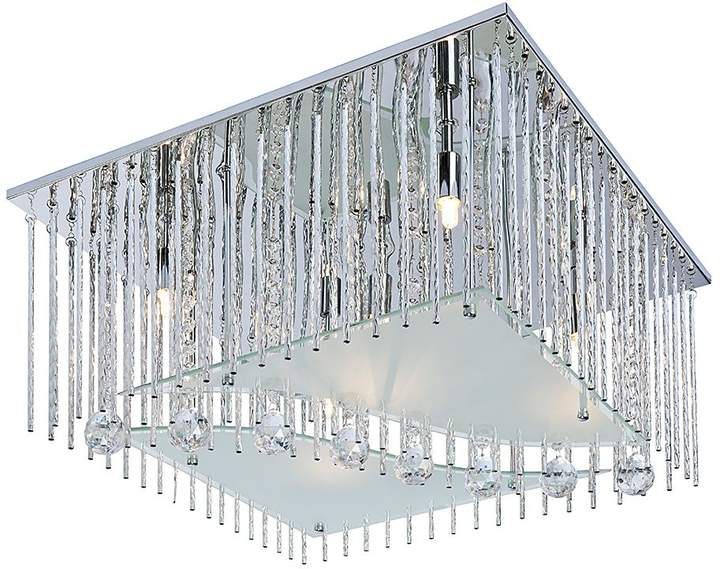 Nino Leuchten EEK A++, Halogen-Deckenleuchte Lamia