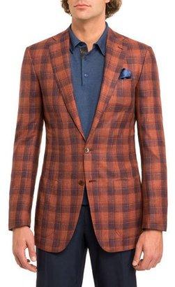 Stefano Ricci Plaid Two-Button Sport Jacket $4,990 thestylecure.com