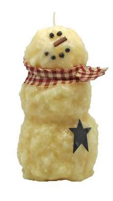 StarHollowCandleCo Tier Snowman Sugar Cookie Novelty Candle
