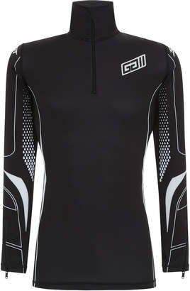 Givenchy Half Zip Scuba Sport Shirt